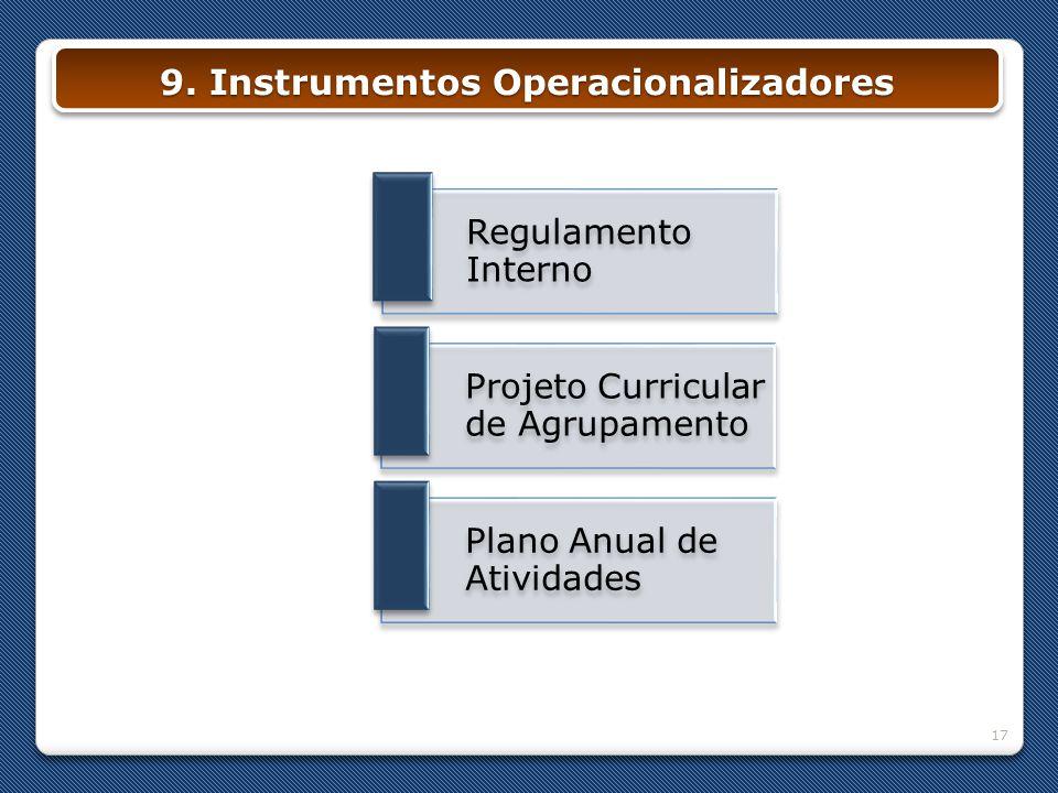 9. Instrumentos Operacionalizadores