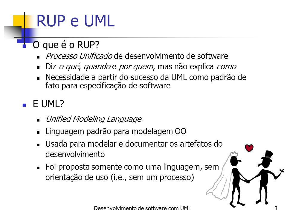 Desenvolvimento de software com UML
