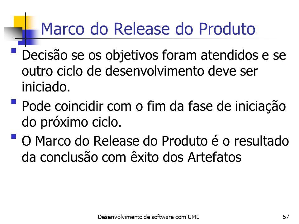 Marco do Release do Produto