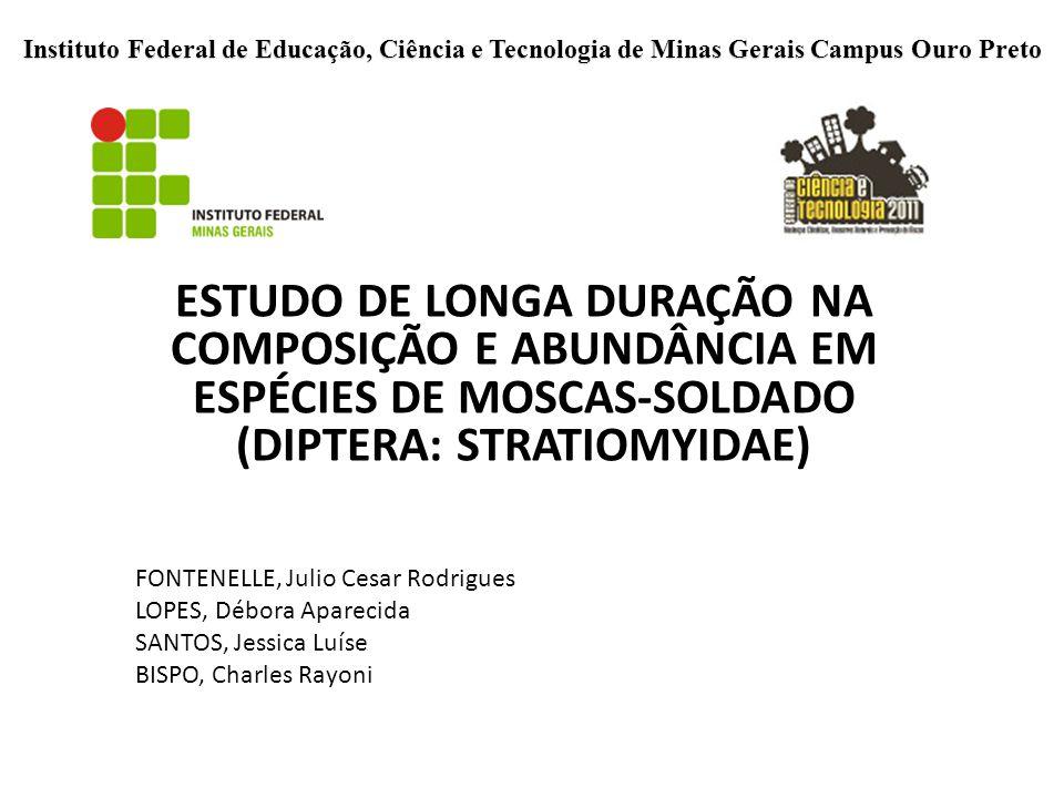 Instituto Federal de Educação, Ciência e Tecnologia de Minas Gerais Campus Ouro Preto