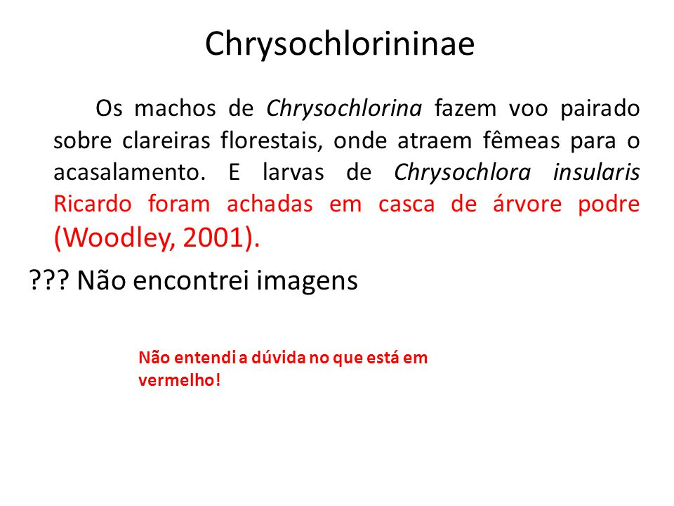 Chrysochlorininae
