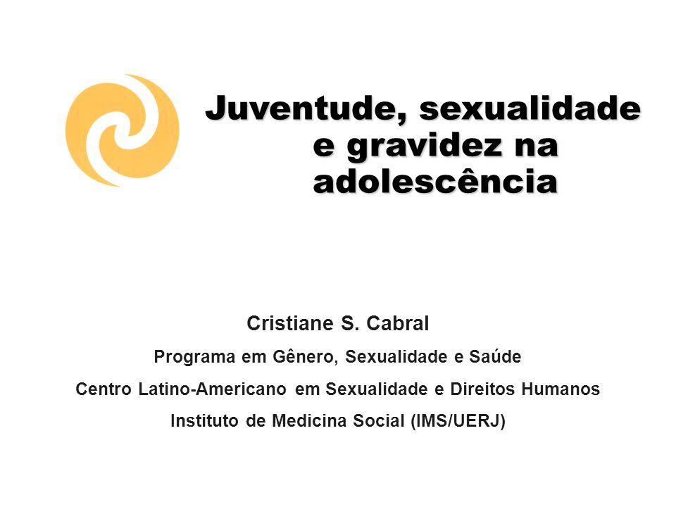 Juventude, sexualidade e gravidez na adolescência