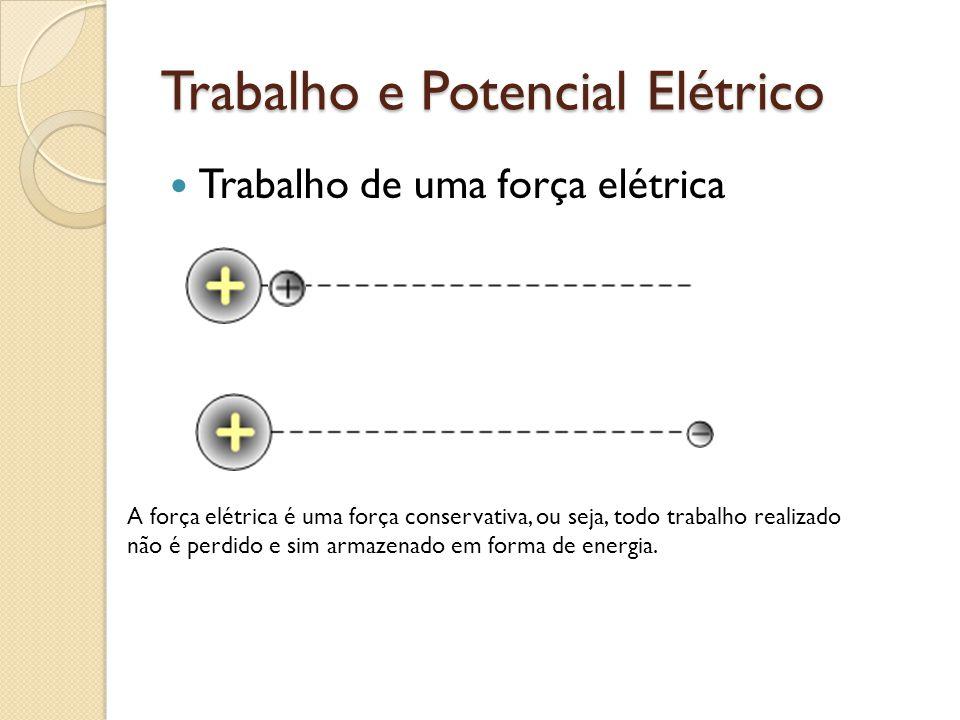 Trabalho e Potencial Elétrico