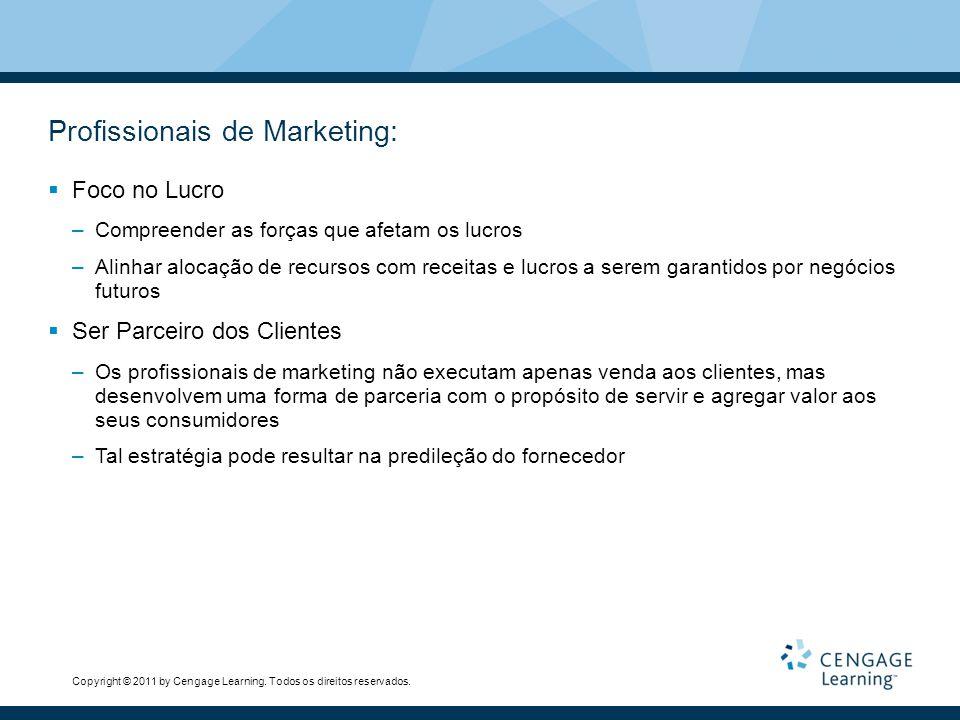 Profissionais de Marketing: