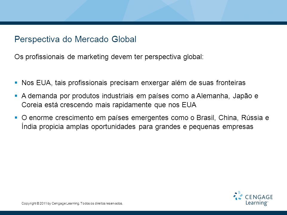 Perspectiva do Mercado Global