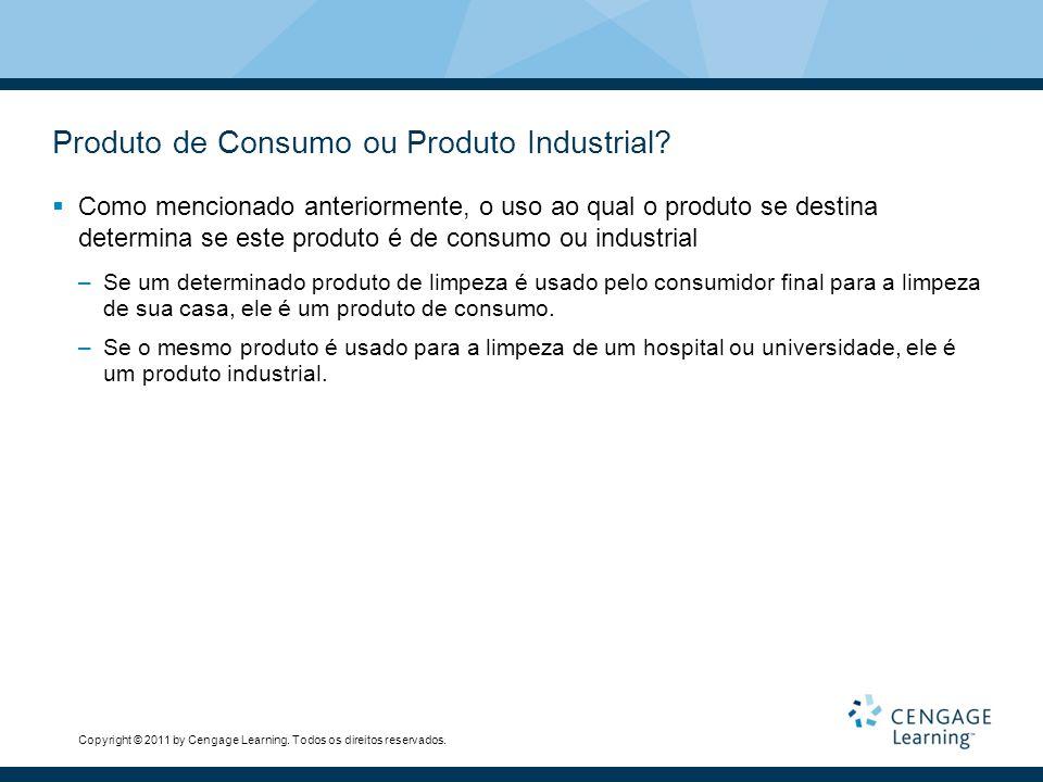 Produto de Consumo ou Produto Industrial