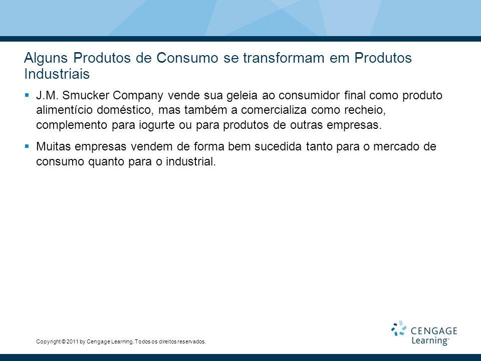 Alguns Produtos de Consumo se transformam em Produtos Industriais