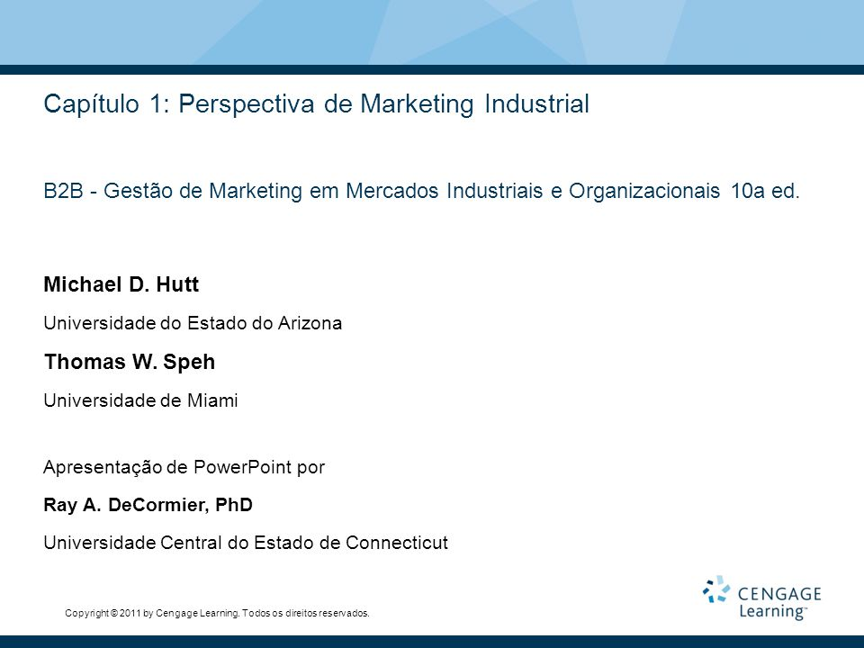 Capítulo 1: Perspectiva de Marketing Industrial