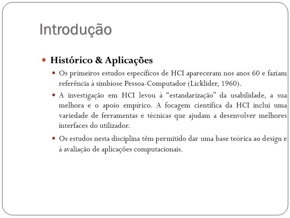 Introdução Histórico & Aplicações