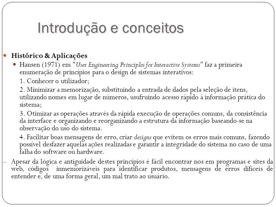 Introdução e conceitos