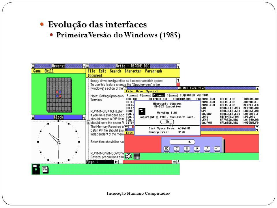 Interação Humano Computador