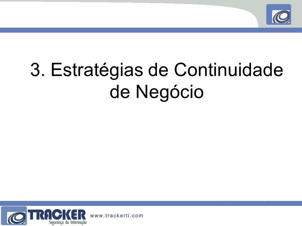 3. Estratégias de Continuidade de Negócio
