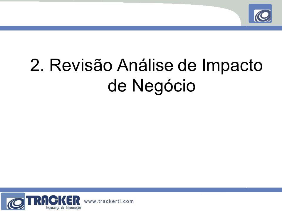 2. Revisão Análise de Impacto de Negócio