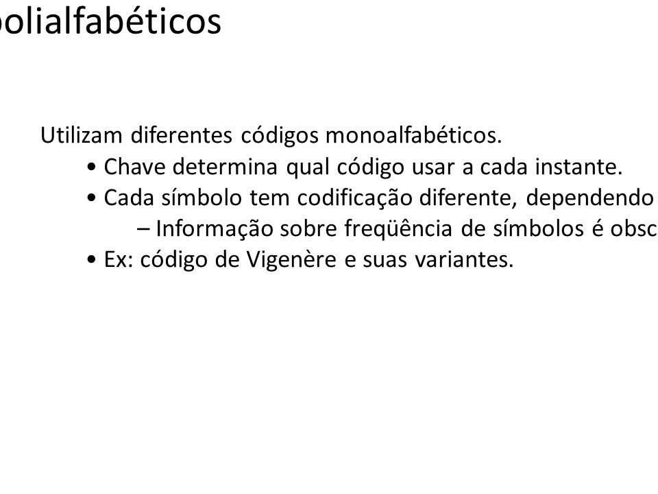 Códigos polialfabéticos