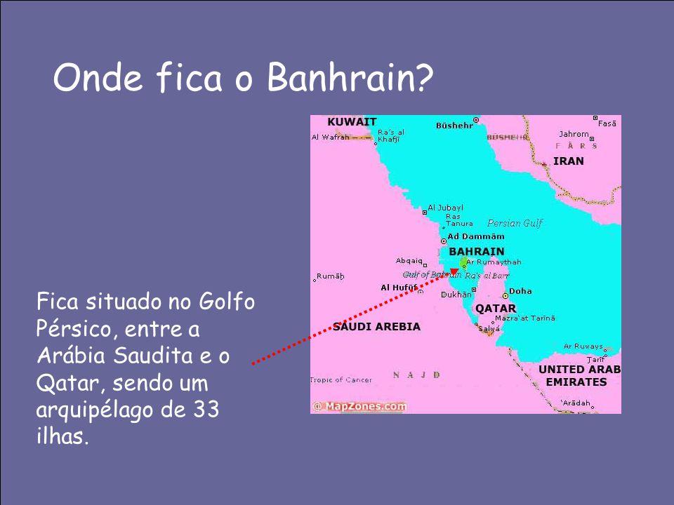 Onde fica o Banhrain.