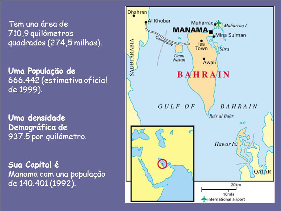 Tem una área de 710,9 quilómetros quadrados (274,5 milhas). Uma População de. 666.442 (estimativa oficial de 1999).