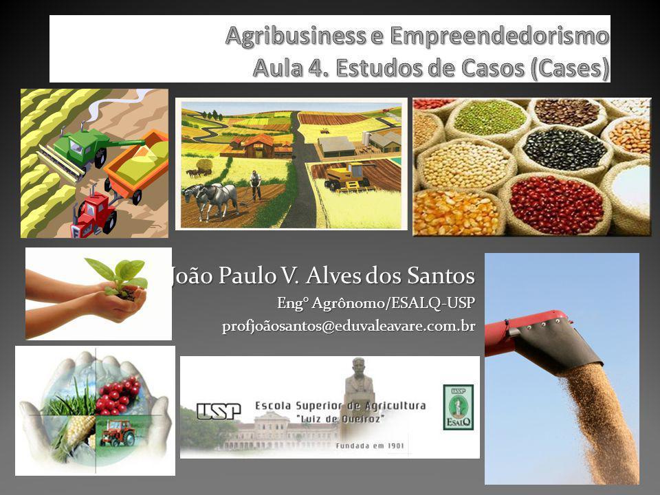Agribusiness e Empreendedorismo Aula 4. Estudos de Casos (Cases)