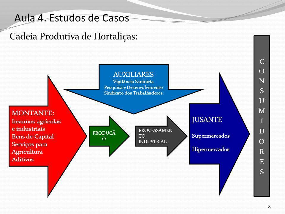 Aula 4. Estudos de Casos Cadeia Produtiva de Hortaliças: CONSUMIDORES
