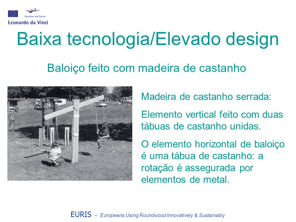 Baixa tecnologia/Elevado design