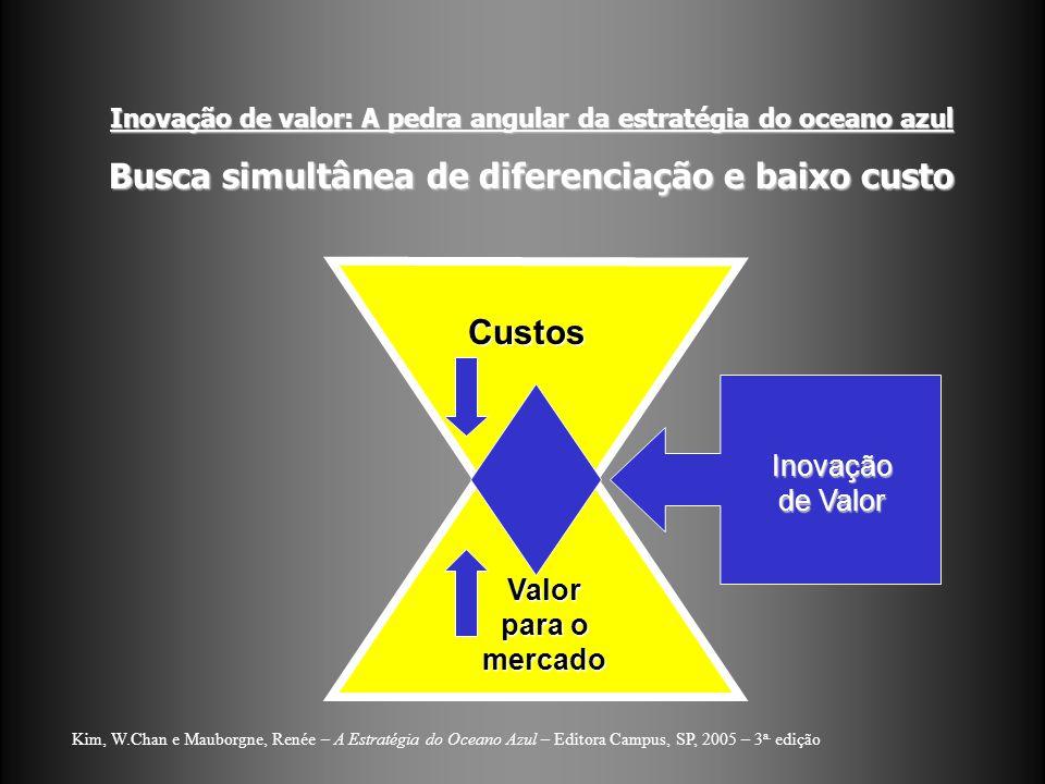 Busca simultânea de diferenciação e baixo custo