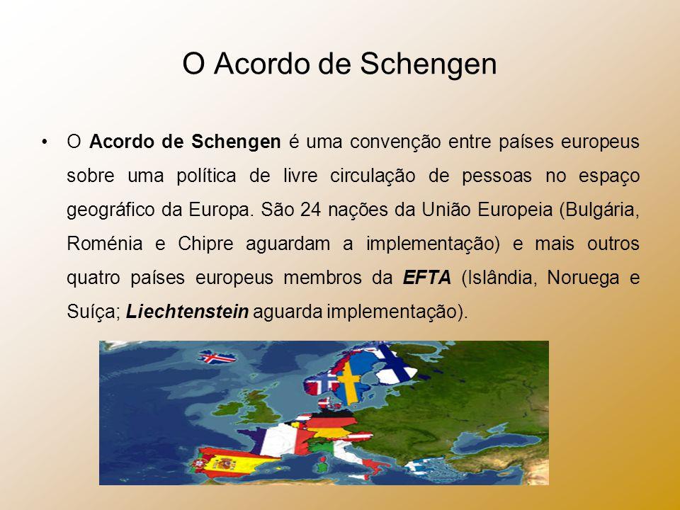 O Acordo de Schengen