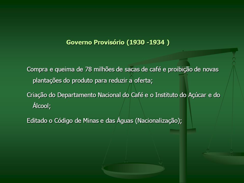 Governo Provisório (1930 -1934 )