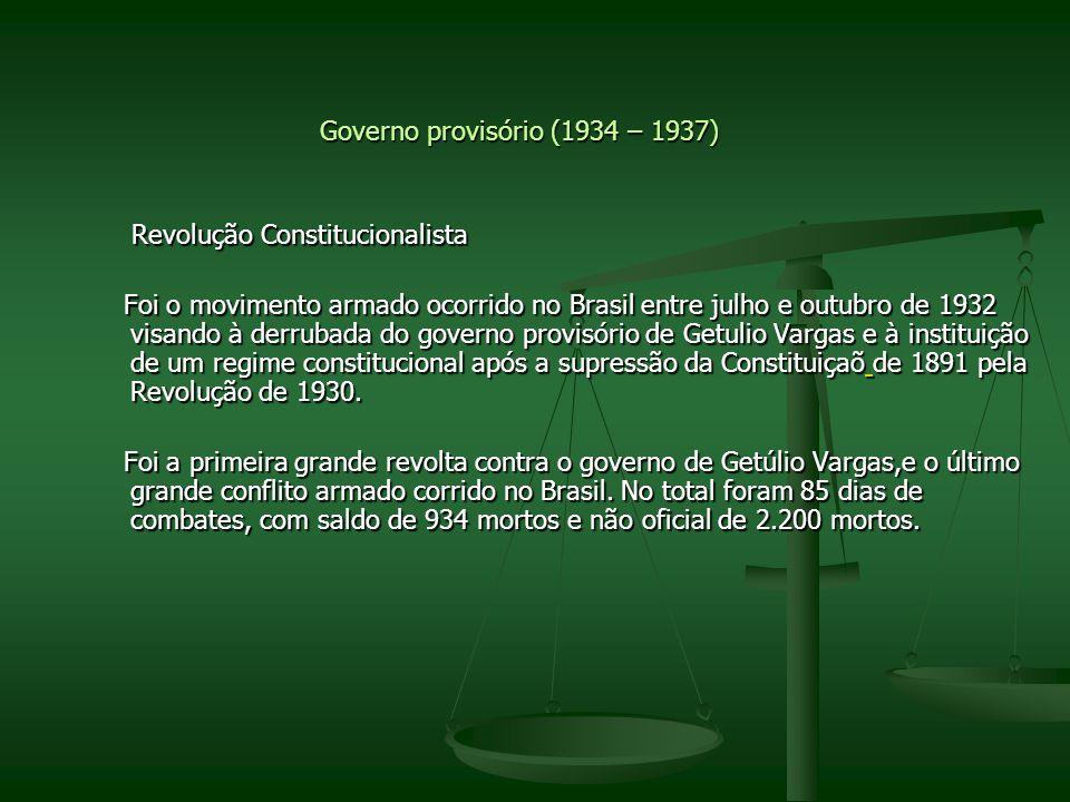 Governo provisório (1934 – 1937)