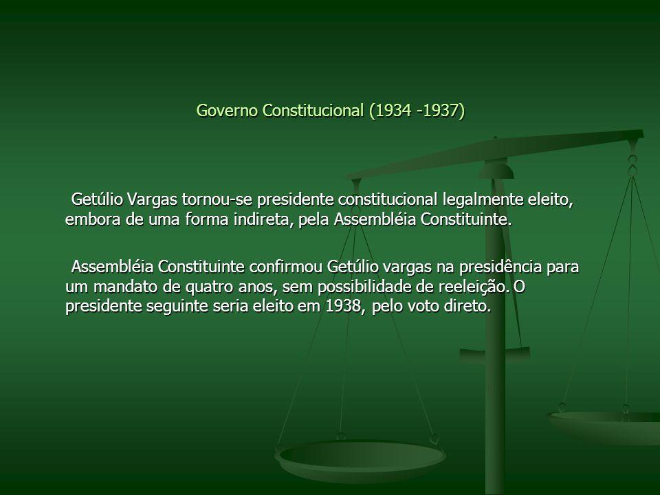 Governo Constitucional (1934 -1937)