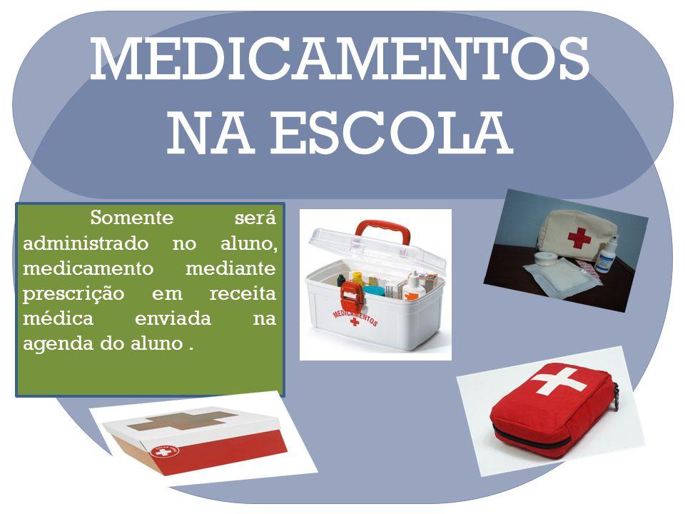 MEDICAMENTOS NA ESCOLA