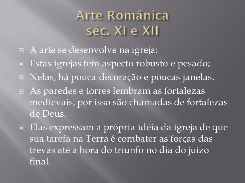 Arte Românica séc. XI e XII