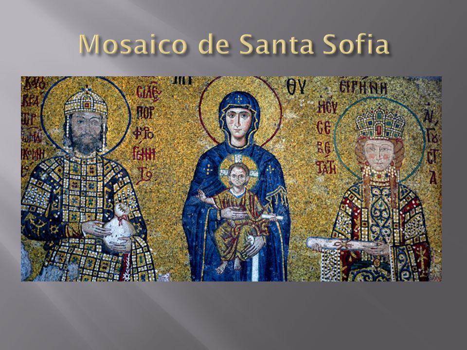 Mosaico de Santa Sofia