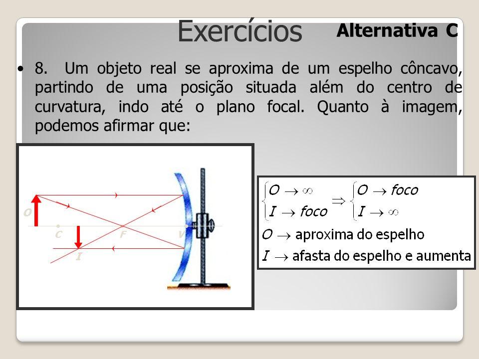 Exercícios Alternativa C