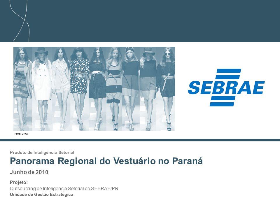 Panorama Regional do Vestuário no Paraná