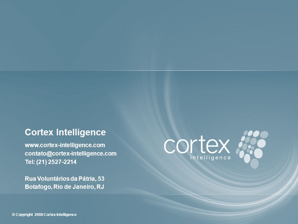 Cortex Intelligence www. cortex-intelligence