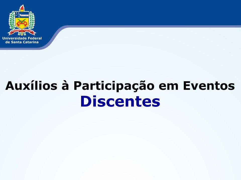 Auxílios à Participação em Eventos