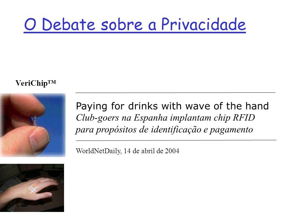 O Debate sobre a Privacidade