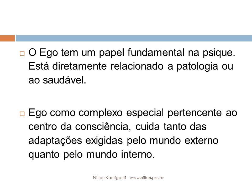 O Ego tem um papel fundamental na psique