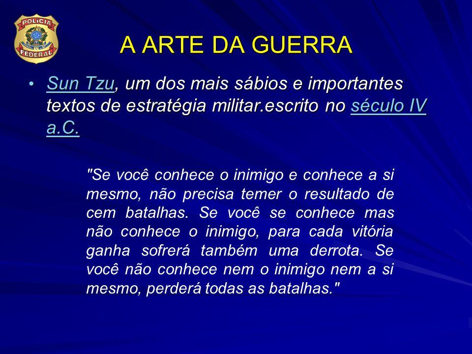 A ARTE DA GUERRA Sun Tzu, um dos mais sábios e importantes textos de estratégia militar.escrito no século IV a.C.