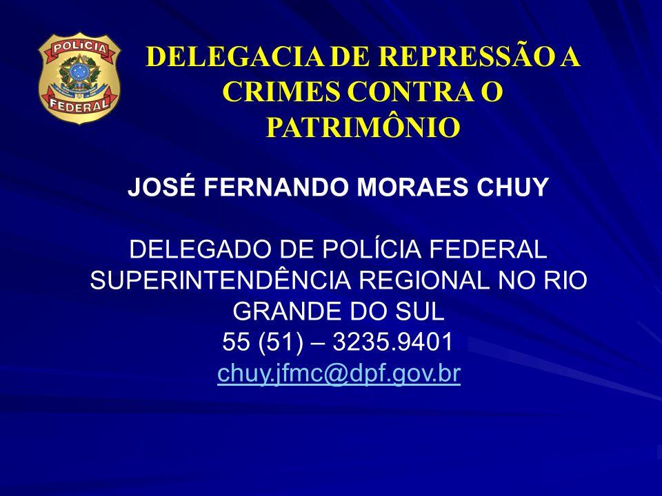 DELEGACIA DE REPRESSÃO A CRIMES CONTRA O PATRIMÔNIO