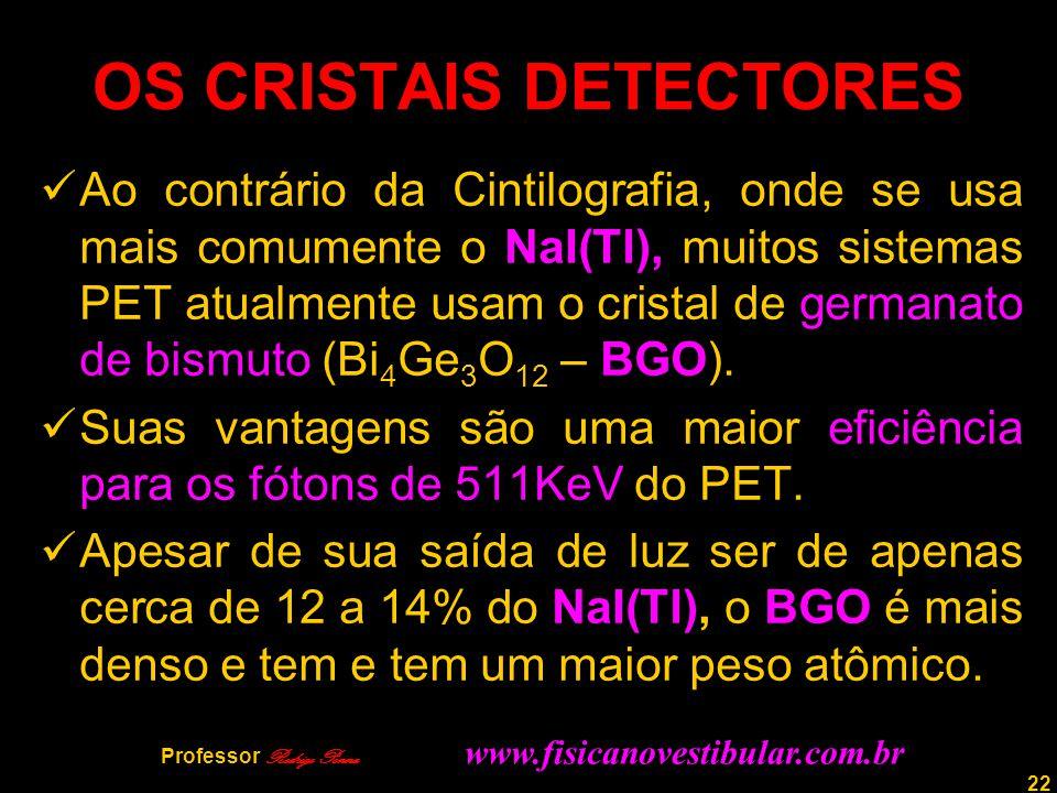 OS CRISTAIS DETECTORES