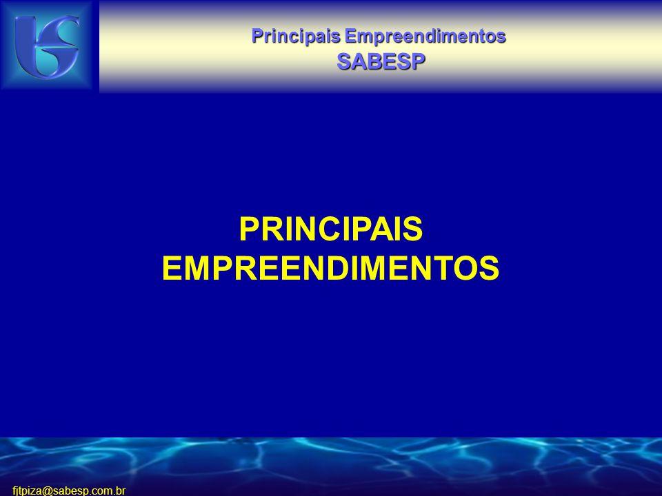 PRINCIPAIS EMPREENDIMENTOS