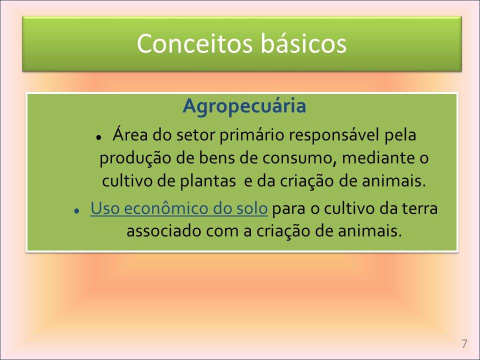 Conceitos básicos Agropecuária