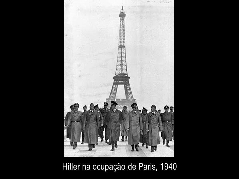 Hitler na ocupação de Paris, 1940
