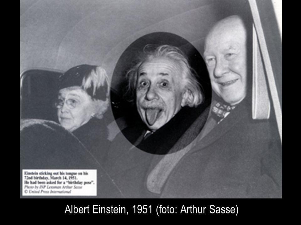 Albert Einstein, 1951 (foto: Arthur Sasse)