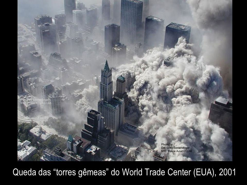 Queda das torres gêmeas do World Trade Center (EUA), 2001
