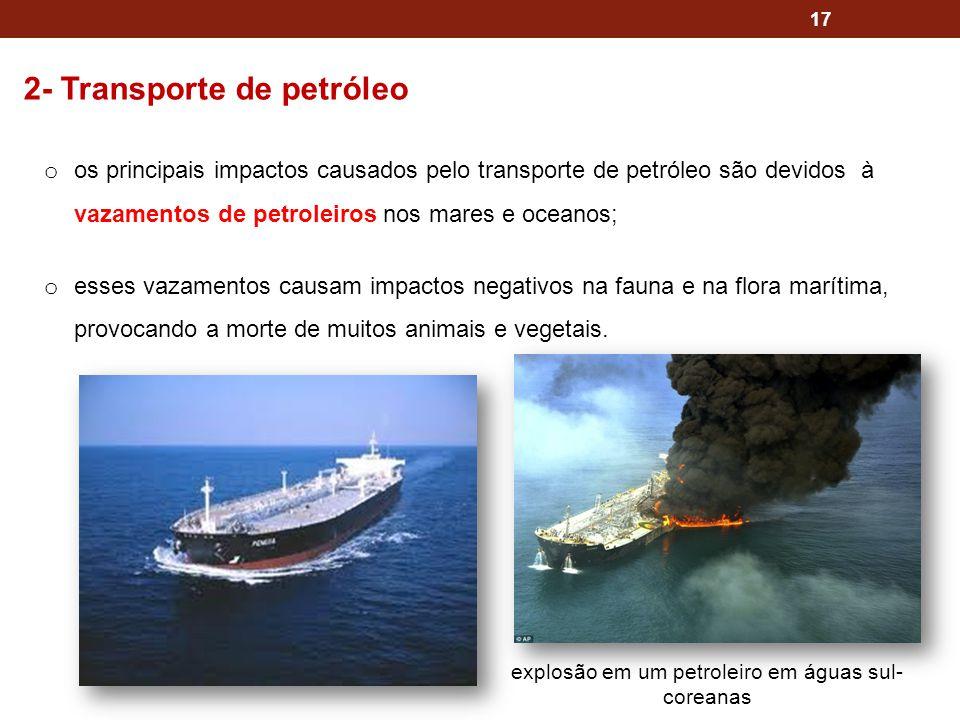 explosão em um petroleiro em águas sul-coreanas