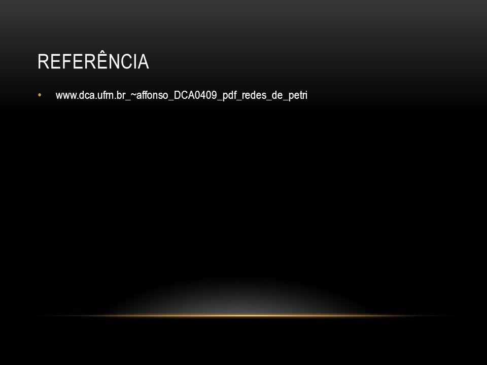 REFERÊNCIA www.dca.ufrn.br_~affonso_DCA0409_pdf_redes_de_petri