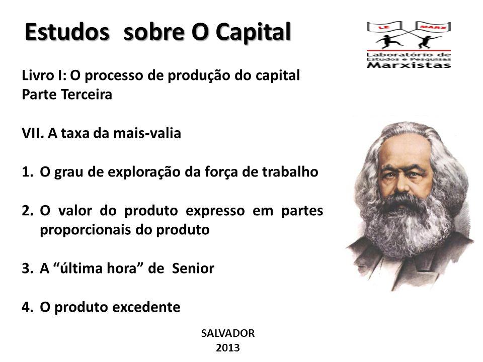 Estudos sobre O Capital
