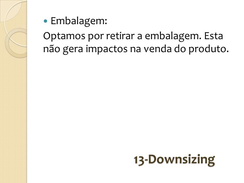 13-Downsizing Embalagem: