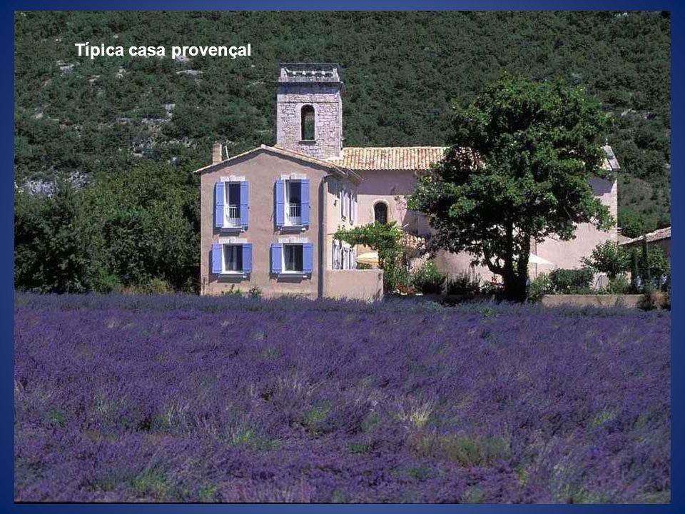Típica casa provençal